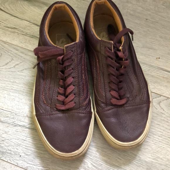 Vans Shoes   Sale Burgundy Old Skool
